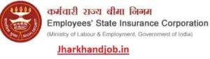 Jharkhand ESIC Stenographer & UDC Recruitment 2019