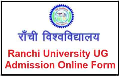 Ranchi University UG Admission Online Form