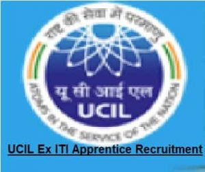 UCIL Ex ITI Apprentice Recruitment