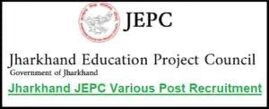 Jharkhand JEPC Recruitment
