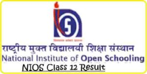 NIOS Class 12 Result
