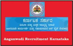 Anganwadi Recruitment Karnataka
