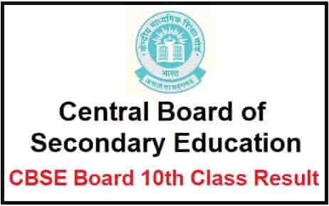 CBSE Board 10th Class Result