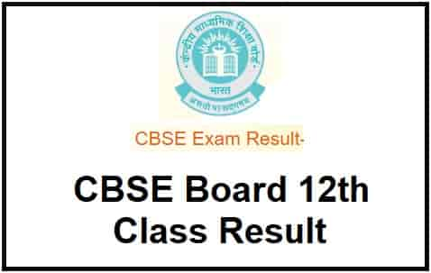 CBSE Board 12th Class Result