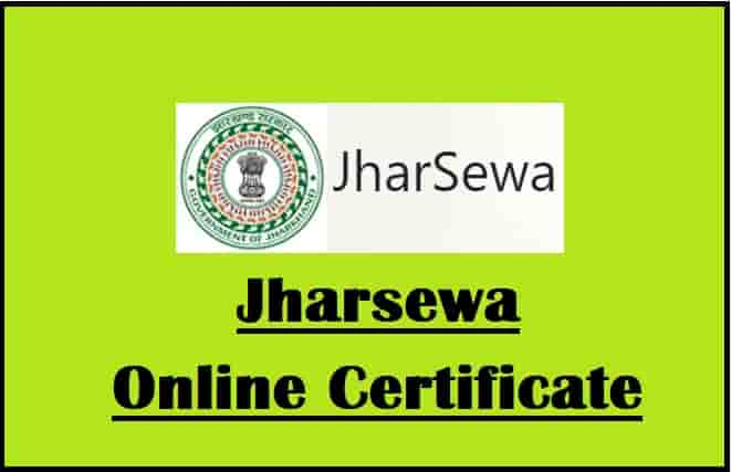 Jharsewa Jharkhand Online Service