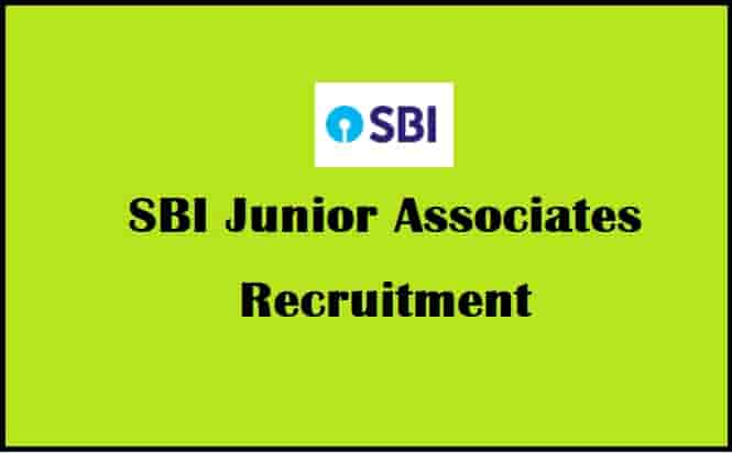 SBI Junior Associates Bharti 2021