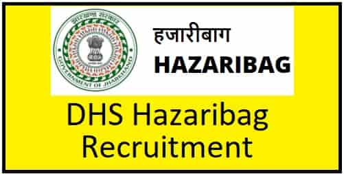 Hazaribag DHS Recruitment
