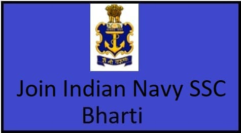 Join India Navy SSC Bharti