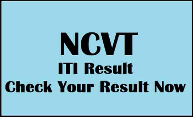 NCVT ITI Result
