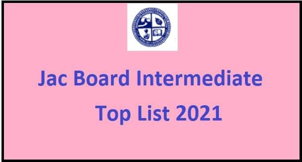 Jac Board 12th class Toper List
