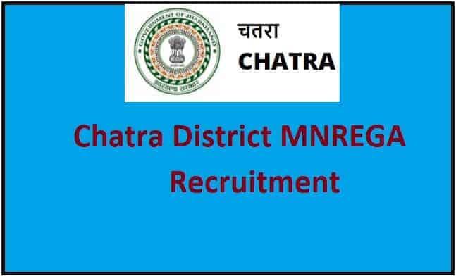 Chatra MNREGA Bharti