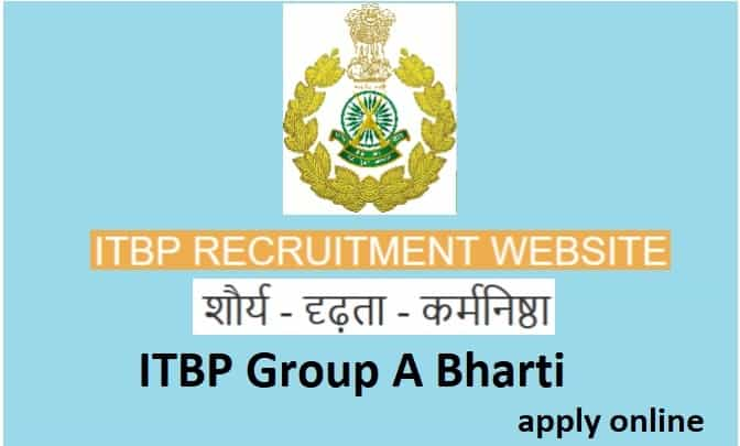 ITBP Group A Bharti 2021